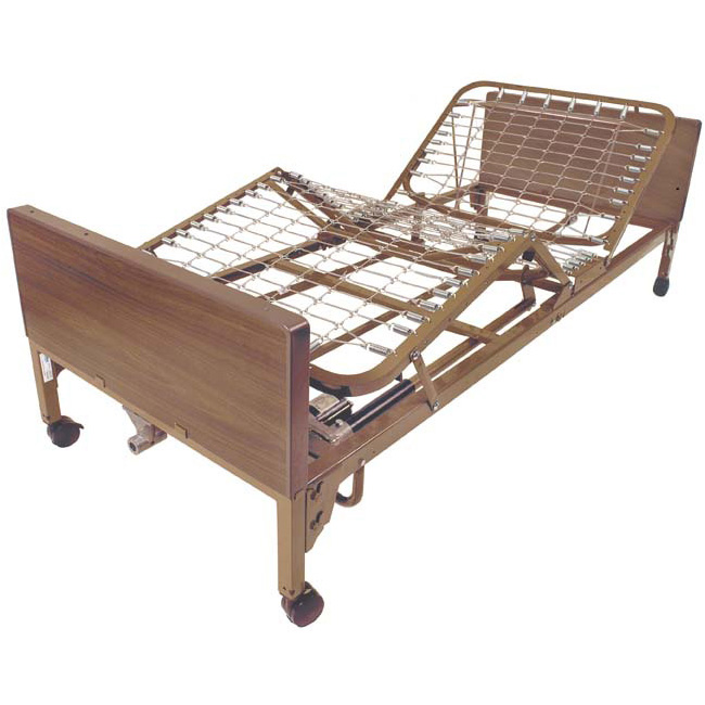 Hospital Bed Full -Electric with Full Rails and Mattress