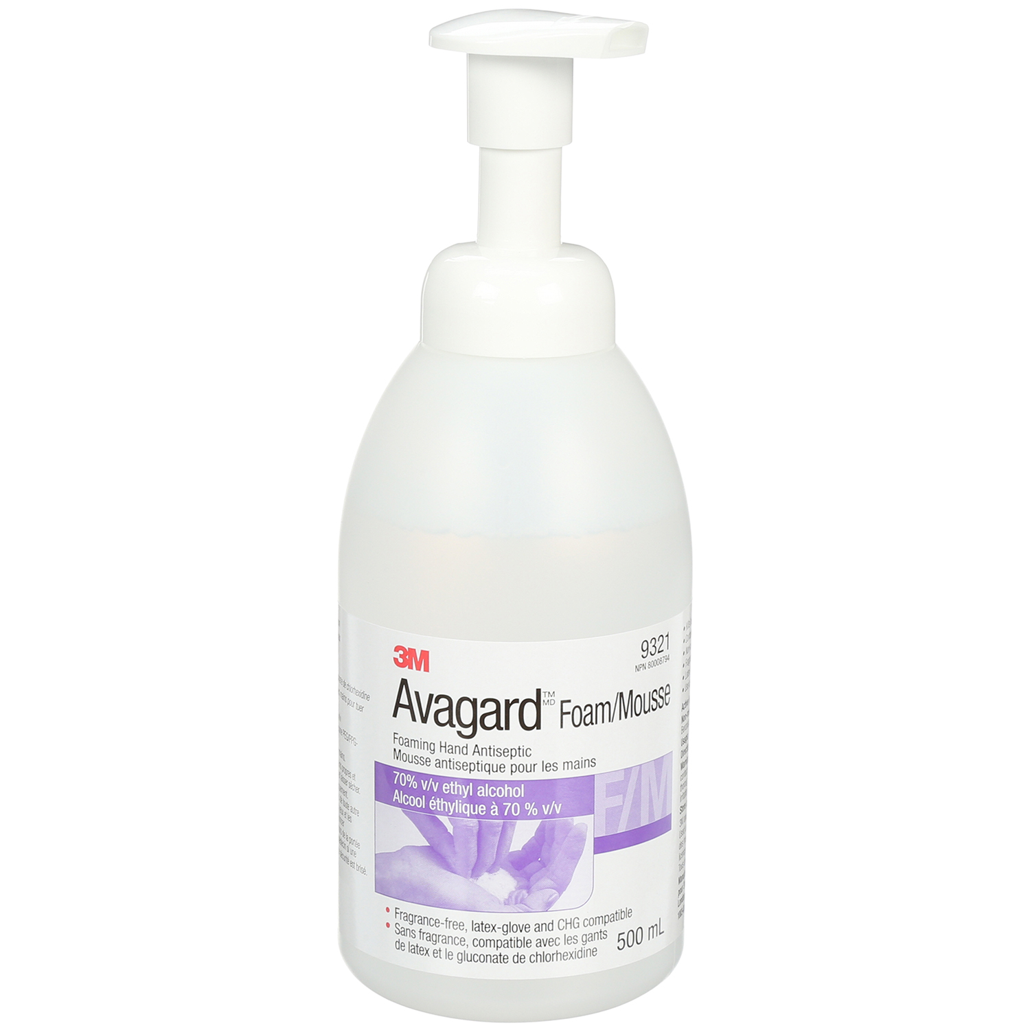 3M Avagard™ Hand Antiseptic, Foaming, Instant