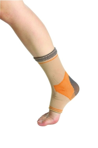Active Elastic Gel Pad Ankle Support